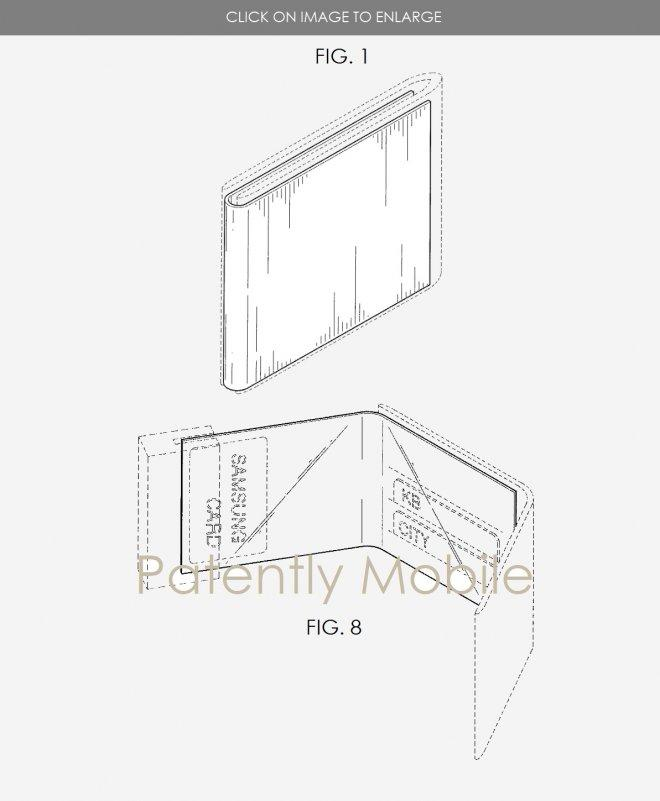samsung patents smart wallet