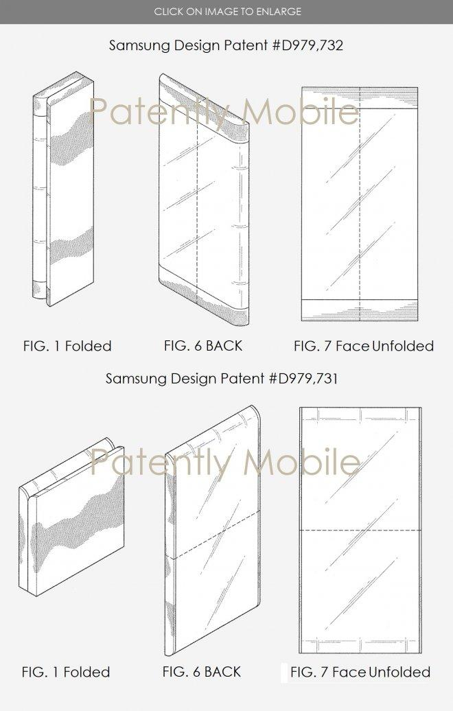 samsung patents foldable smartphone