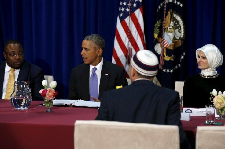 Barack Obama in Baltimore mosque