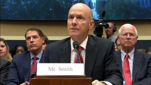 Former Equifax chief apologises to Congress over hack