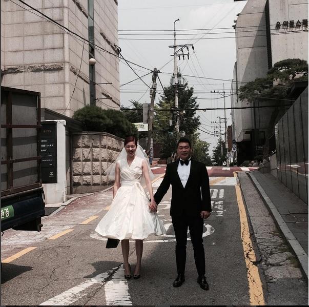 Lee Chan Ho and Kim Sae Rom