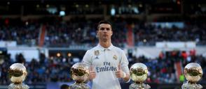 Cristiano Ronaldo sells his one Ballon d'Or trophy