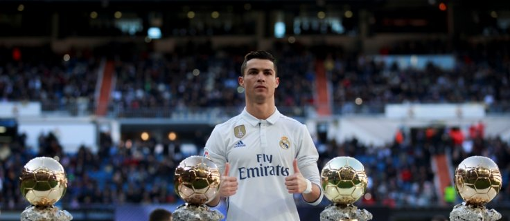 Cristiano Ronaldo sells his one Ballon d'Or trophy