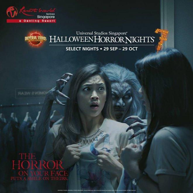 Halloween Fright Night China Movie.Singapore Police Warn Of Uss Halloween Horror Nights Ticket