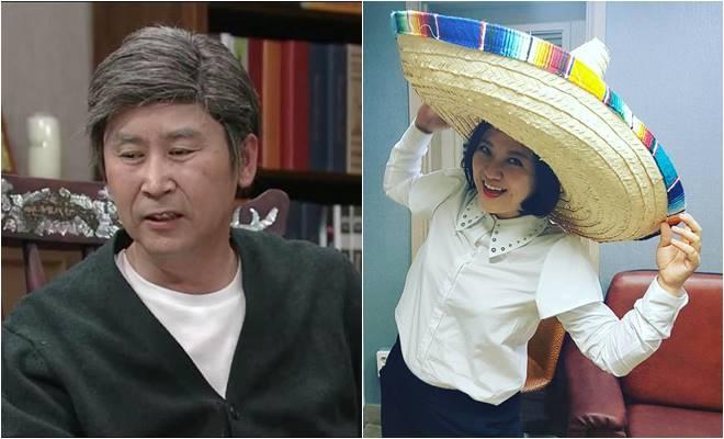 Shin Dong Yup and Kim Sook