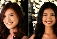 Miss Universe Singapore 2017 finalists Estelle Heng and Camira Asrori