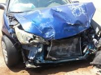 Singapore Car Accident Representational Image