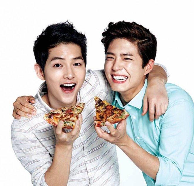 Song Joong Ki And Park Bo Gum's New TV Commercial Spark