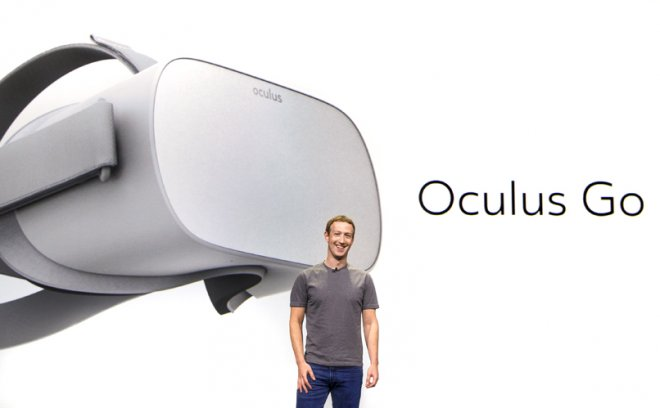 Oculus Go comes with a built-in LCD panel