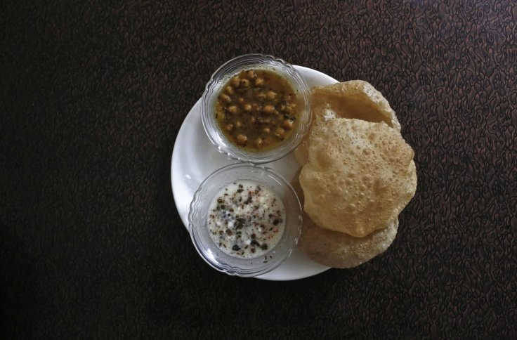 Sara Navqi's favourite Iftar meal of puri-chole, deep fried bread and spicy chickpeas