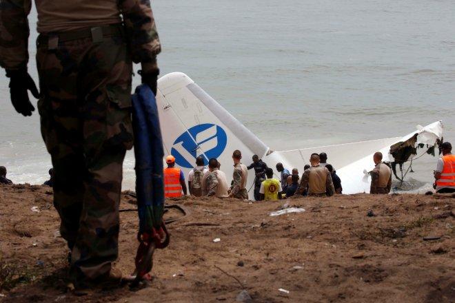 Cargo plane crash