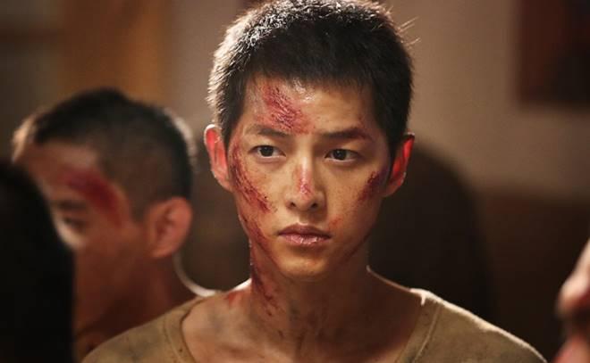 Song Joong-ki in 'The Battleship Island'