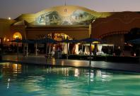 A pool is seen in the Red Sea resort of Hurghada