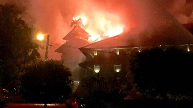 Yangon Fire