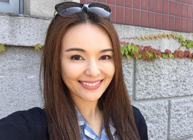 Singaporean actress Apple Hong