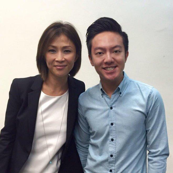 Wong Li Lin during an event