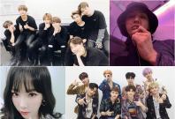 BTS, G-Dragon, EXO and Taeyeon
