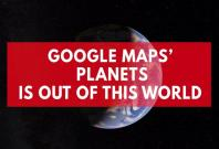 Google Maps now covers our solar system