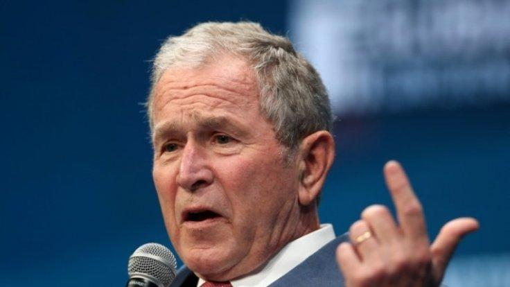 Bigotry seems emboldened: George W Bush aims veiled criticism at Donald Trump