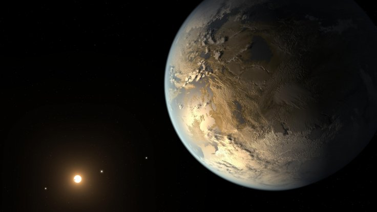 Representational picture of exoplanet