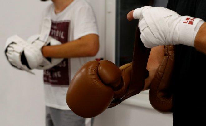 Singaporean boxer Muhamad Ridhwan