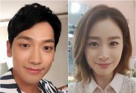 Rain and Kim Tae Hee