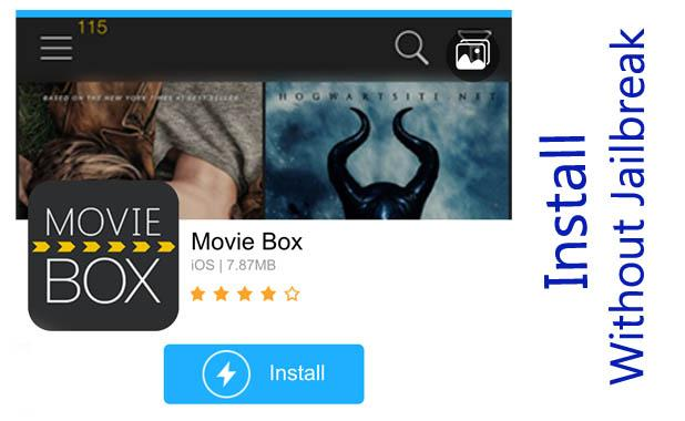 How to install Movie Box app without jailbreak on iOS 10