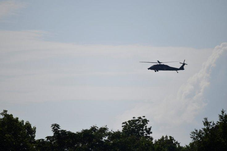 Four people dies in helicopter crash at Papua, Indonesia
