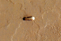 Object spotted on Mars