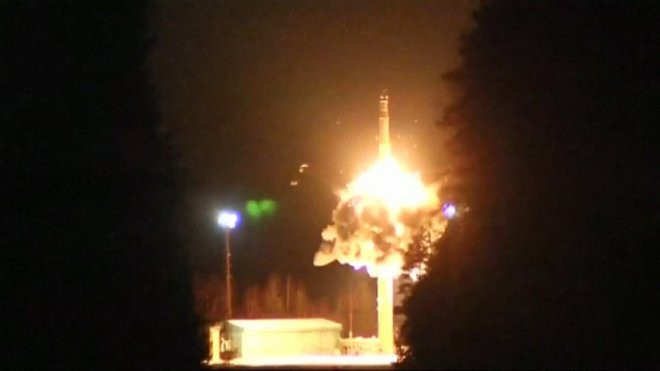 Russia tests nuclear-capable ballistic missiles