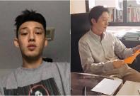 Yoo Ah-in (left) and Kim Joo-hyuk