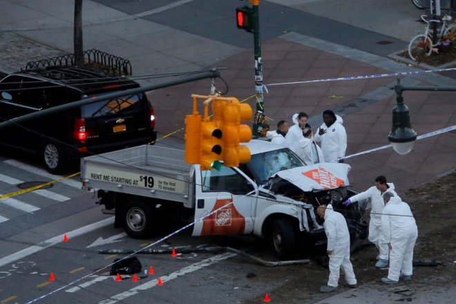 New York city truck terror attack
