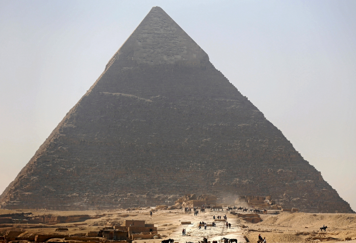 an analysis of the structural dimension of the great pyramid in egypt The dimensions of the great pyramid  1  prove that one tended to economize labor as long as structural  the dimension of the great pyramid can be.