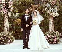 Newly-wed couple Song Joong-ki and Song Hye-kyo