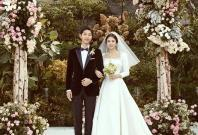 Newly-wed couple Song Joong-ki and Song Hye-kyo