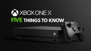 Five things to know about the Xbox One X