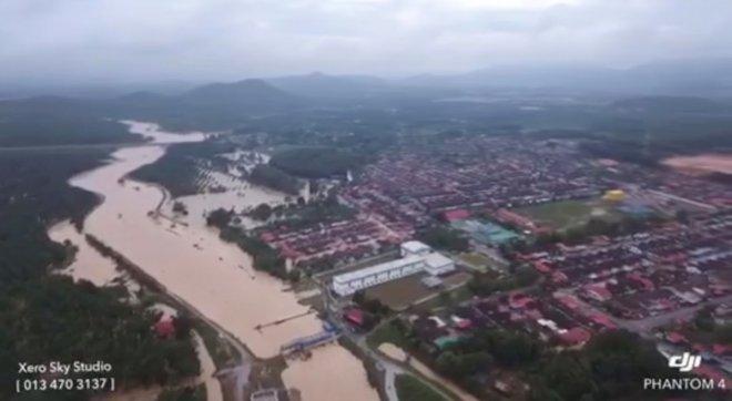 Penang flood