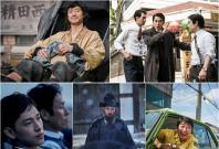 """Best Film nominees (clockwise from top left) """"Anarchist from Colony,"""" """"The King,"""" """"A Taxi Driver,"""" """"The Fortress"""" and """"The Merciless"""""""