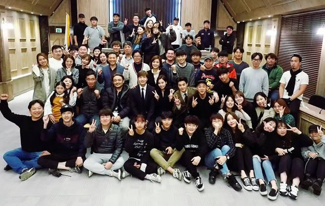The stars and staff of 'Bad Thief, Good Thief'