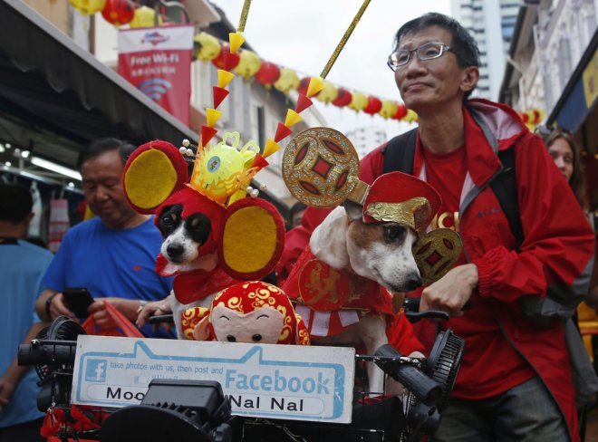 Lunar new year sales dip in Singapore chinatown