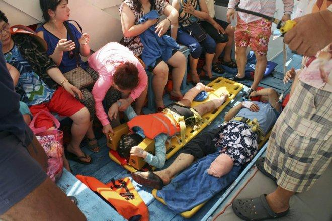 Thailand speedboat accident: Two Chinese tourists killed and 20 injured in tour boat collision