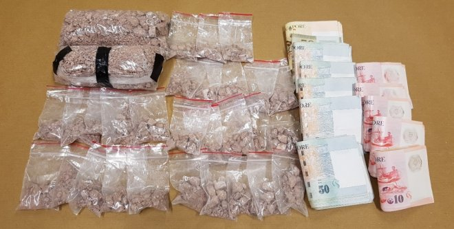 drugs seized in Singapore