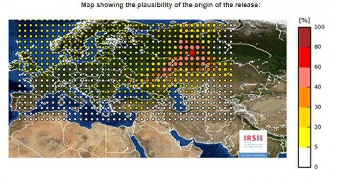 IRSN map
