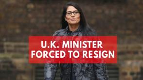 Priti Patel quits cabinet over undisclosed meetings in Israel