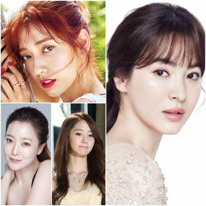 Naturally beautiful South Korean actresses