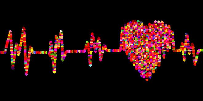 Heart representational picture