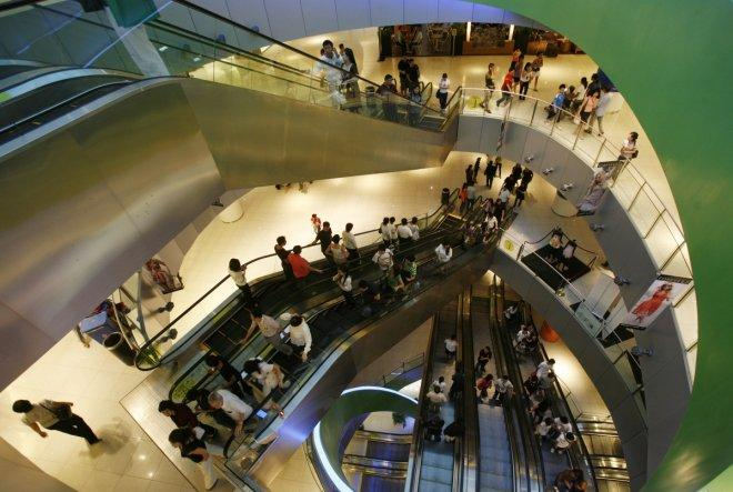 Shopping centers in singapore