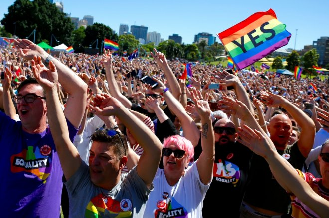 Australia votes in favor of same-sex marriage