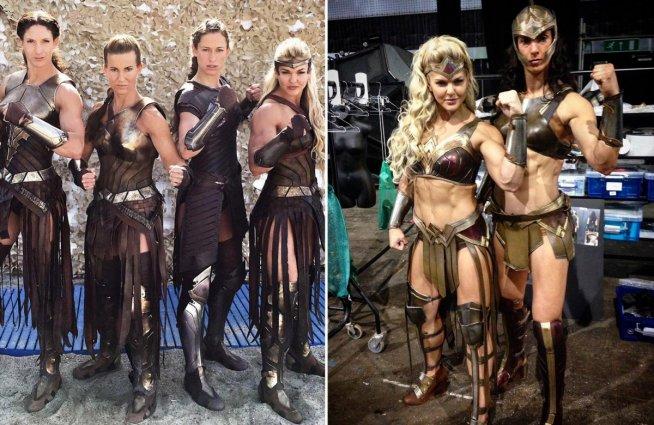 Comparison of Amazon Warrior 's costumes