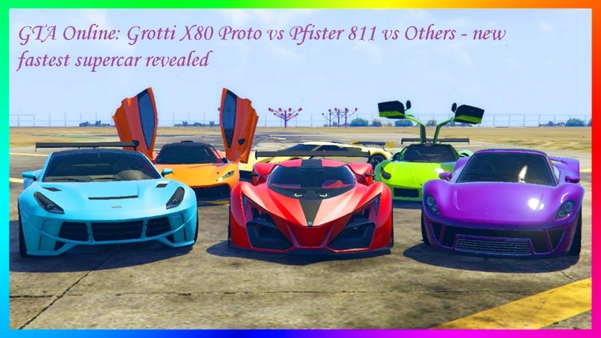 gta 5 online dlc grotti x80 proto vs pfister 811 vs others new